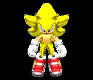 SA2 Model Super Sonic