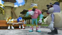 SB S1E17 Soar report Tails Sonic