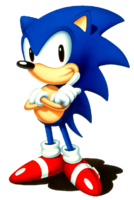 Sonic 2 JP Sonic arms crossed
