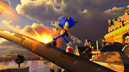 Sonic Forces poziom 7