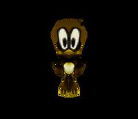 Sonic Runners Flicky model
