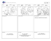 Unlucky Knuckles storyboard 5