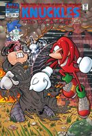 Archie Knuckles The Dark Legion Issue 3