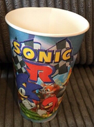 Burger King Sonic R 1998 promotion cup