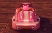 PinkCabrioletRearCar