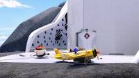 S1E02 lair entrance landing