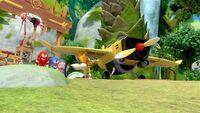 SB S1E18 Team Sonic Tails' plane