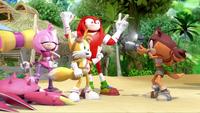SB S1E19 Team Sonic camera flash