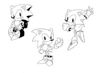 SEGASONIC art assets