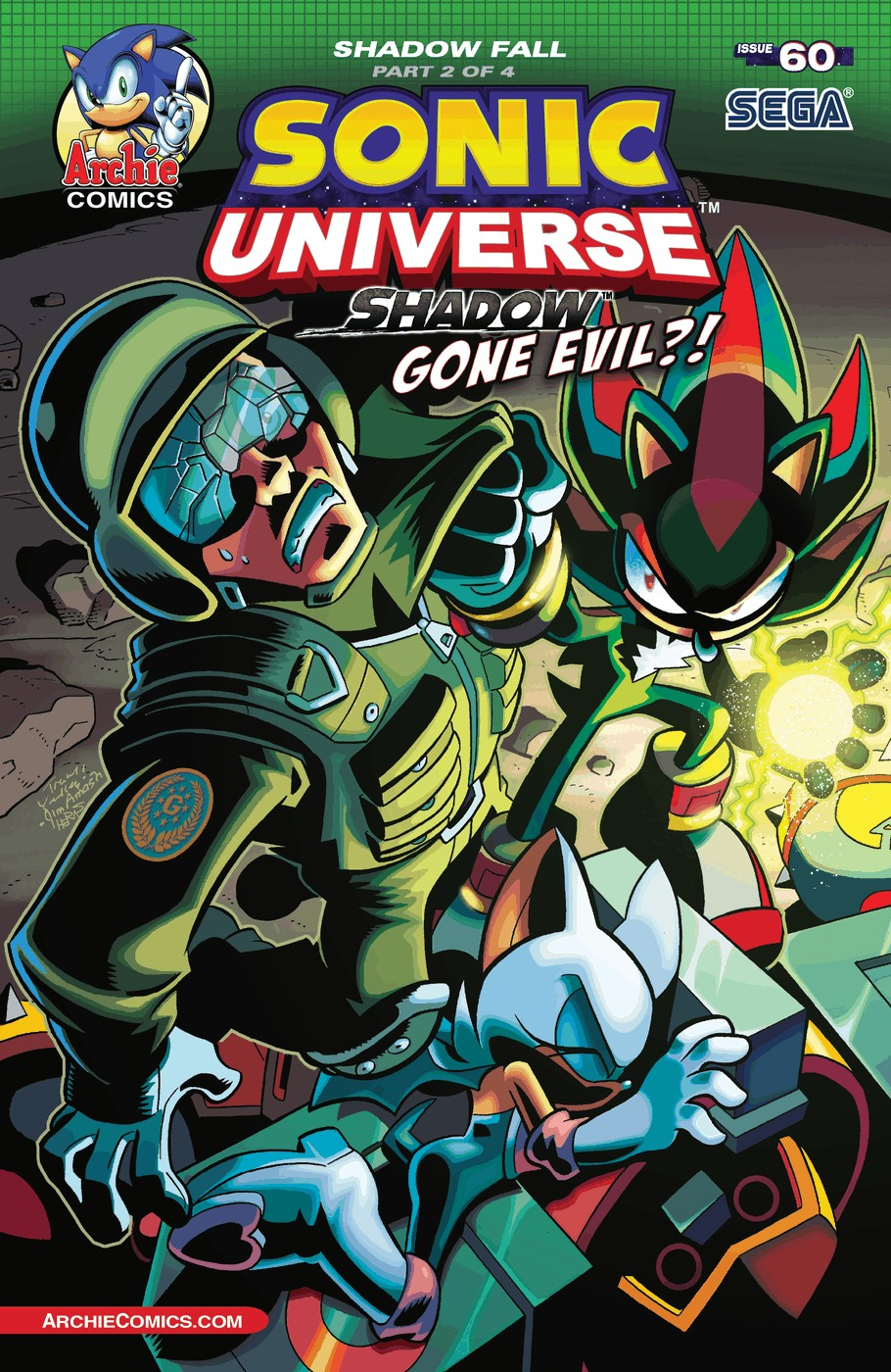 Sonic Universe Issue 60
