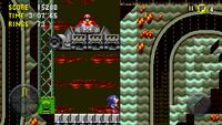 Sonic CD Mobile Sonic Collision Chaos Zone 3 Bad future 16
