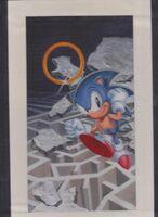Amazing Sonic artwork