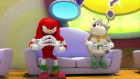 S1E41 Knuckles thinking