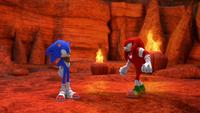 SB S1E13 Sonic vs Knuckles