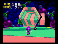 Chaotix special stage4