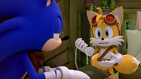 SB S1E50 Sonic Tails offering