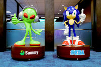 SegaSammy Statues