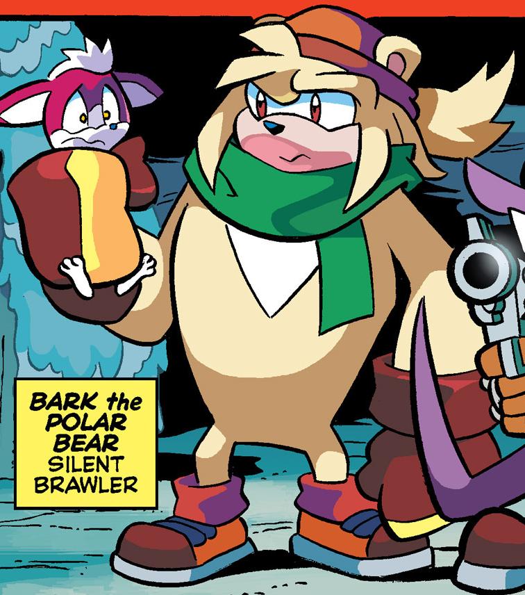 Bark the Polar Bear (Archie)