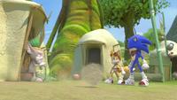 SB S1E09 Sonic Tails Gogobas standoff