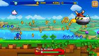 Sonic Runners Sonic Gameplay