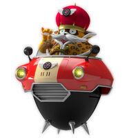 Team Sonic Racing Dodonpa