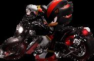 Shadow na motocyklu