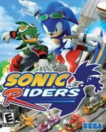 Sonic Riders Okładka