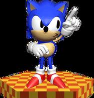 Sonic the Hedgehog - 3D Render