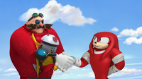 Eggman and Knuckles deal