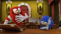 SB S1E17 Knuckles lawyer Sonic