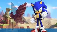 Sonic Forces Tapeta Sonic