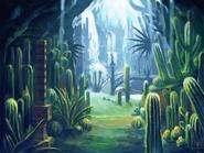 Dinosaur Jungle koncept 1
