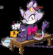 Kimono Blaze - Sonic Channel