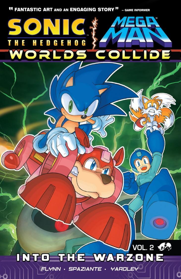 Sonic the Hedgehog/Mega Man: Worlds Collide Volumen 2: Into the Warzone