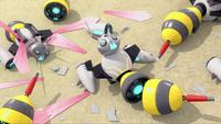 SB S1E23 Bee Bots busted