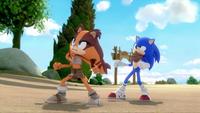 SB S1E23 Sticks Sonic glare