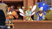 SB YAIBO Sonic Tails and Sticks
