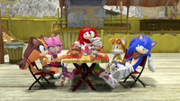 Remember you and Knuckles competed
