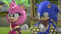 Sonic and Amy communicator
