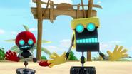 SB S1E23 Orbot Cubot panic