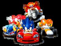 Sonic Drift main art