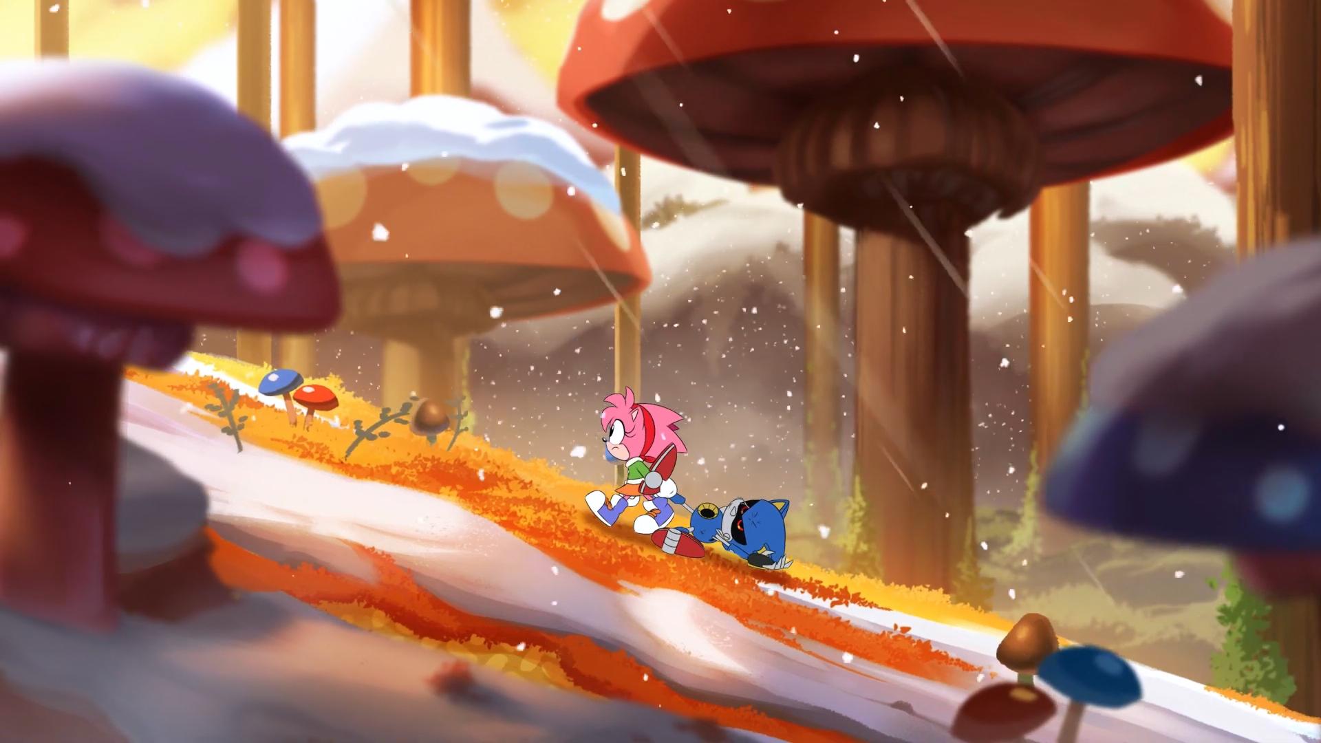 Mushroom Hill Zone (Classic Sonic's world)