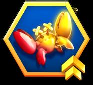 Sonic Dash Golden Badnik