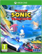 Team Sonic Racing - Portada Xbox One