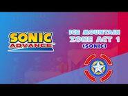 Ice Mountain Zone Act 1 (Sonic) - Sonic Advance