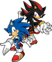 MSG 2D groups - Sonic & Shadow