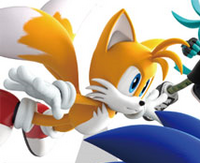 SF 3D art vs Tails