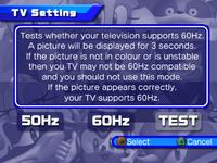SH TV Setting Menu