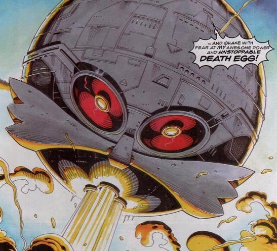 Death Egg II (Sonic the Comic)