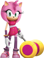 SonicDash2 Boom Amy with her hammer